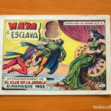 Tebeos: EL HIJO DE LA JUNGLA, Nº 49 - ALMANAQUE 1958 - EDITORIAL VALENCIANA. Lote 73676807