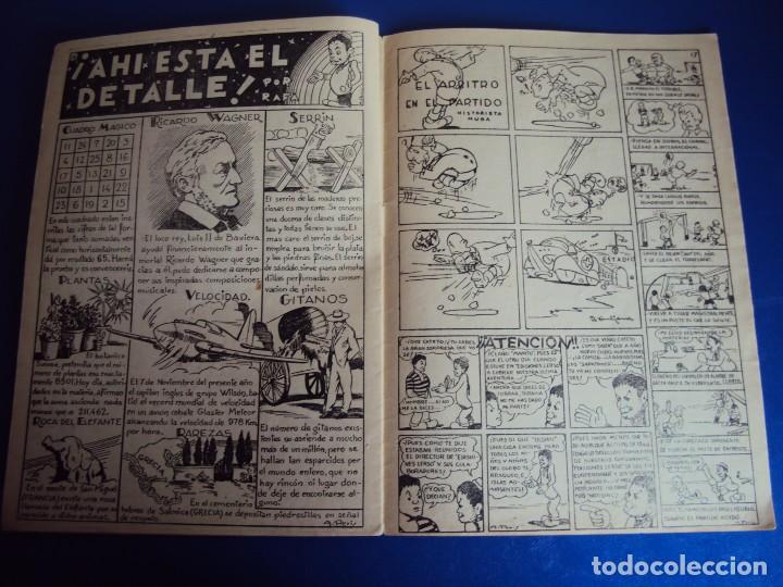 Tebeos: (COM-170101) ALMANAQUE ORIGINAL DE CANTINFLAS AÑO 1946 - Foto 9 - 73773671