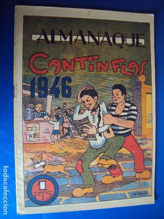 (COM-170101) ALMANAQUE ORIGINAL DE CANTINFLAS AÑO 1946 (Tebeos y Comics - Tebeos Almanaques)