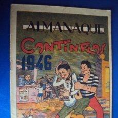 Tebeos: (COM-170101) ALMANAQUE ORIGINAL DE CANTINFLAS AÑO 1946. Lote 73773671