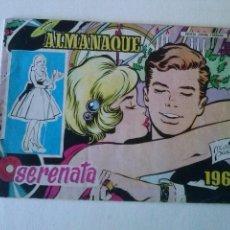 Tebeos: ALMANAQUE SERENATA 1961 .- TORAY ORIGINAL -. Lote 73944751