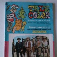 Tebeos: ALMANAQUE- TELE COLOR 1966- ,BRUGUERA ,ORIGINAL. Lote 73946783