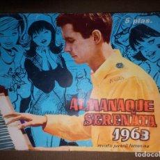 Tebeos: TEBEO - COMIC - SERENATA - ALMANAQUE SERENATA 1963 - NAVIDAD 1962. Lote 74361699