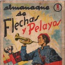 Livros de Banda Desenhada: ALMANAQUE DE FLECHAS Y PELAYOS. AÑO 1939. Lote 74462763