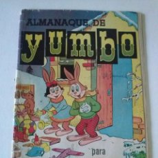 Tebeos: YUMBO ALMANAQUE 1957 HISPANO AMERICANA ORIGINAL. TA. Lote 75675711