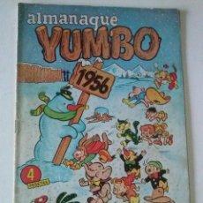 Tebeos: YUMBO ALMANAQUE 1956 CLIPER ORIGINAL. TA. Lote 75676435