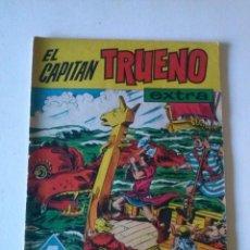 Tebeos: EL CAPITAN TRUENO EXTRA,--ALMANAQUE 1961,BRUGUERA, ORIGINAL. Lote 76499619