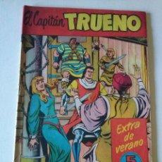 Tebeos: EL CAPITAN TRUENO EXTRA DE VERANO 1958, BRUGUERA,ORIGINAL . Lote 76505747