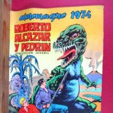 Tebeos: ROBERTO ALCÁZAR Y PEDRÍN , ALMANAQUE 1974 , ORIGINAL , EDITORIAL VALENCIANA. Lote 90935790