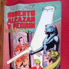 Tebeos: ROBERTO ALCÁZAR Y PEDRÍN , ALMANAQUE 1976 , ORIGINAL , EDITORIAL VALENCIANA. Lote 90935782