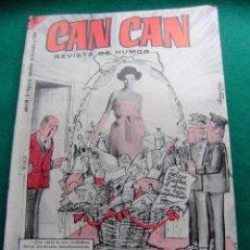 Tebeos: CAN CAN ALMANAQUE PARA 1966 EDITORIAL BRUGUERA. Lote 77649241