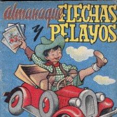 Tebeos: ALMANAQUE FLECHAS Y PELAYOS 1948.. Lote 77811761