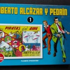 Tebeos: ALMANAQUE ROBERTO ALCÁZAR Y PEDRÍN NÚMERO 1 DE PLANETA AGOSTINI. Lote 80057981