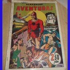 Tebeos: ALMANAQUE DE AVENTURAS ED. BRUGUERA 1945 ORIGINAL DE EPOCA . Lote 82894456