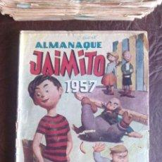 Tebeos: ALMANAQUE JAIMITO 1957. VALENCIANA. Lote 83387792