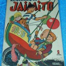 Tebeos: ALMANAQUE DE JAIMITO 1955 - ORIGINAL DE VALENCIANA - PERFECTO. Lote 84359860