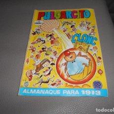 Tebeos: PULGARCITO ALMANAQUE 1973 CON SHERIFF KING. BRUGUERA 25 PTS. BUEN ESTADO.. Lote 87747792