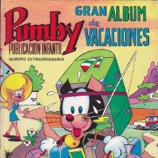 BDs: COMIC PUMBY ALBUM DE VACACIONES 1969. Lote 88500288