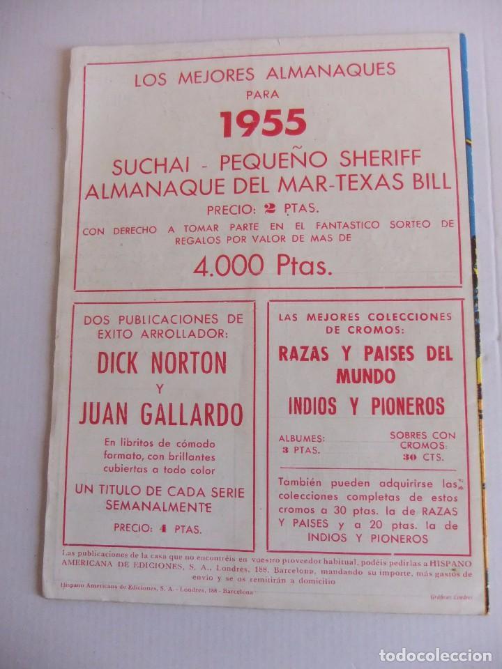 Tebeos: ALMANAQUE SUCHAI PARA 1955 ORIGINAL HISPANO AMERICANA DE EDICIONES - Foto 2 - 89046204