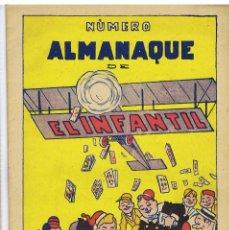 ALMANAQUE EL INFANTIL 1933