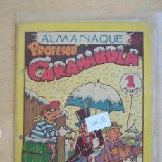 Tebeos: VALENCIANA, ALMANAQUE DEL PROFESOR CARAMBOLA 1946. Lote 90330056