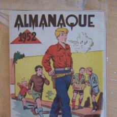 Tebeos: GRAFIDEA,- CHISPITA ALMANAQUE 1952. Lote 90960780