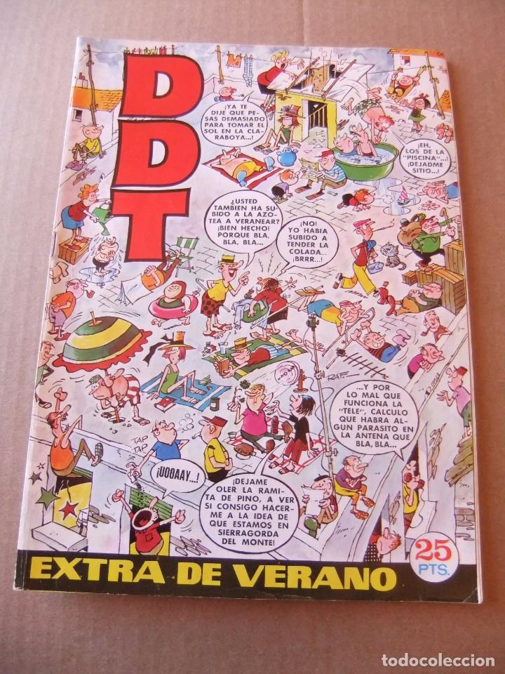 EL D.D.T. EXTRA DE VERANO PARA 1972 EDITORIAL BRUGUERA (Tebeos y Comics - Tebeos Almanaques)