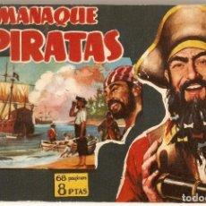 Tebeos: PIRATAS, ALMANAQUE 1959 - GESTION, MUY BUEN ESTADO. Lote 92056255