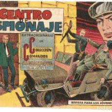 Tebeos: COLECCION COMANDOS ALMANAQUE 1958 - VALENCIANA. Lote 92057385