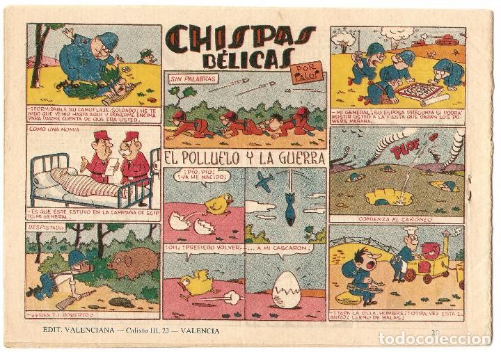 Tebeos: COLECCION COMANDOS ALMANAQUE 1958 - VALENCIANA - Foto 2 - 92057385