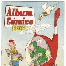 Tebeos: ALBUM COMICO 1961, ORIGINAL VALENCIANA- IMPORTANTE LEER DESCRIPCION. Lote 92058885
