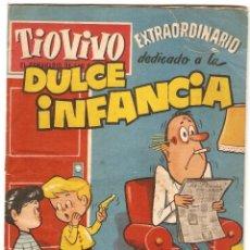 Tebeos: TIO VIVO Nº 121 EXTRA DULCE INFANCIA, BRUGUERA ORIGINAL. Lote 144097990