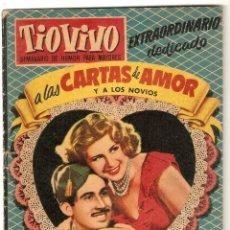 Tebeos: TIO VIVO Nº 67 EXTRA CARTAS DE AMOR, BRUGUERA ORIGINAL. Lote 92066555