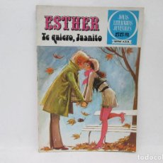 Tebeos: ESTHER - TE QUIERO, JUANITO - JOYAS LITERARIAS JUEVENILES SERIE AZUL. Lote 92801805
