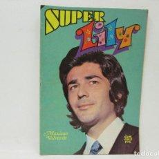 Tebeos: SUPER LILY - MAXIMO VALVERDE - AÑO 1976. Lote 92803225