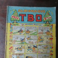 Livros de Banda Desenhada: ALMANAQUE TBO 1954. Lote 94427730