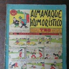 Tebeos: ALMANAQUE HUMORISTICO TBO 1958. Lote 94428162