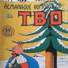 Tebeos: TBO ALMANAQUE HUMORISTICO 1972. Lote 94852071