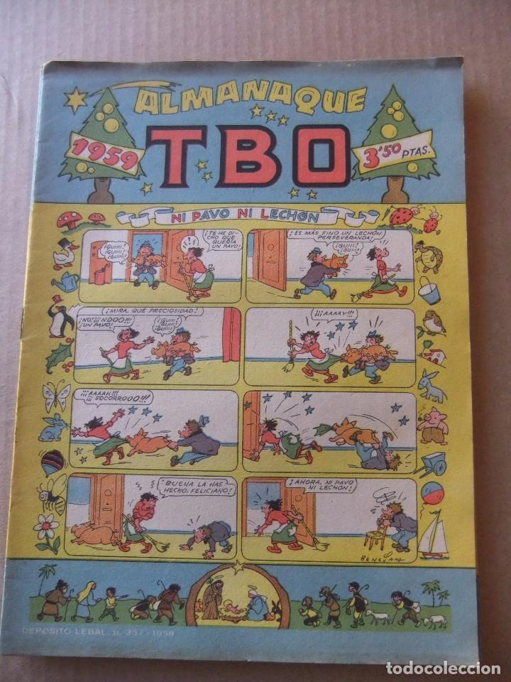 ALBUM T.B.O. PARA 1959 EDICIONES BUIGAS (Tebeos y Comics - Tebeos Almanaques)