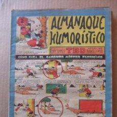 Tebeos: ALMANAQUE HUMORISTICO DE EDICIONES TBO PARA 1956. Lote 96089823
