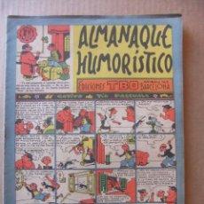 Tebeos: ALMANAQUE HUMORISTICO DE EDICIONES TBO PARA 1958. Lote 96089883