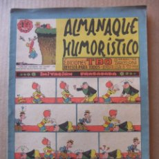 Tebeos: ALMANAQUE HUMORISTICO DE EDICIONES TBO PARA 1959. Lote 96089935
