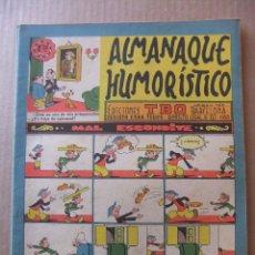 Tebeos: ALMANAQUE HUMORISTICO DE EDICIONES TBO PARA 1960. Lote 96089991