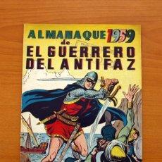 Tebeos: EL GUERRERO DEL ANTIFAZ - ALMANAQUE 1959 - EDITORIAL VALENCIANA. Lote 97654211