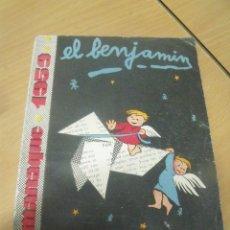 Tebeos: EL BENJAMIN ALMANAQUE 1959. Lote 98170435