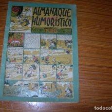 Tebeos: TBO ALMANAQUE HUMORISTICO PARA 1949 EDITA BUIGAS . Lote 98588955