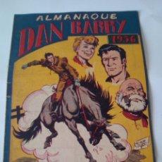 Tebeos: DAN BARRY - ALMANAQUE 1956 ORIGINAL MAGA -. Lote 100309012