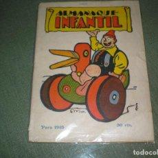 Tebeos: ALMANAQUE DEL INFANTIL 1935. Lote 101118463