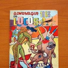 Tebeos: LOCOS - ALMANAQUE 1963 - EDITORIAL VALENCIANA - TAMAÑO 24X17. Lote 101604823
