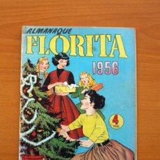 Tebeos: FLORITA - ALMANAQUE 1956 - EDICIONES CLIPER - TAMAÑO 25X18. Lote 101625991